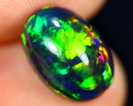 2.86cts Natural Ethiopian Welo Smoked Opal / HM3024