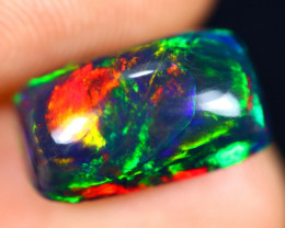2.61cts Natural Ethiopian Welo Smoked Opal / HM3028