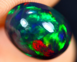 2.81cts Natural Ethiopian Welo Smoked Opal / HM3029