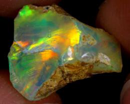 4cts Natural Ethiopian Welo Rough Opal / PA468