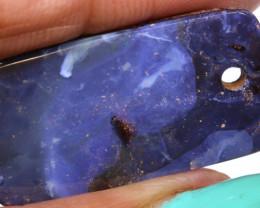 20.50Carats Boulder Opal Pre Drilled  Ro-1668    raniopals