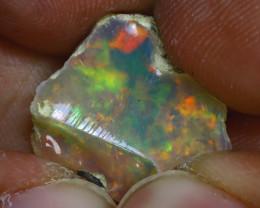 5.20Ct Multi Color Play Ethiopian Welo Opal Rough H0120/R2