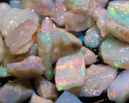 20cts Coober Pedy White Opal Rough Parcel  ADO-9563  adopals