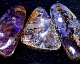 45.50CTS-Boulder Opal Drilled Parcel Ro-1711  raniopals