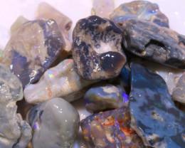124cts lightning ridge opal rough parcel ADO-9592 - adopals