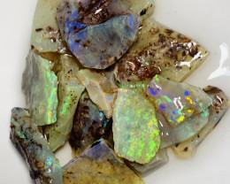Bright Multicolour Rough Crystal Seams to Gamble #359