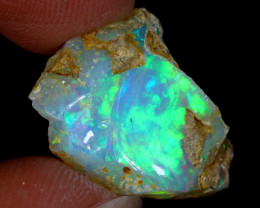7cts Natural Ethiopian Welo Rough Opal / WR8428