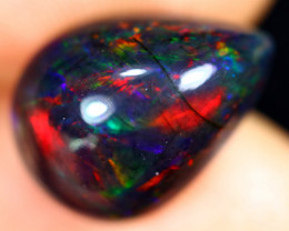 3.99cts Natural Ethiopian Welo Smoked Opal / UX1095