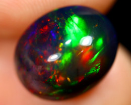 4.40cts Natural Ethiopian Welo Smoked Opal / UX1119