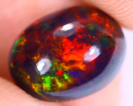 2.88cts Natural Ethiopian Welo Smoked Opal / UX1128