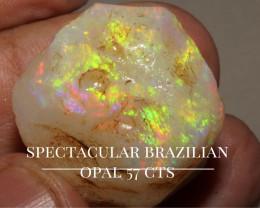 57 CTS BRAZILIAN ROUGH OPAL
