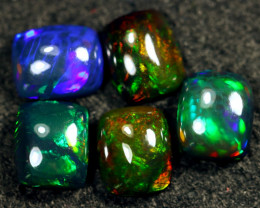 15.93cts Natural Ethiopian Welo Smoked Opal Lots  / HM3065