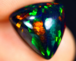 2.74cts Natural Ethiopian Welo Smoked Opal / HM3093