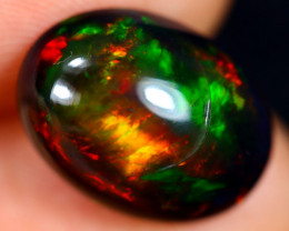 4.83cts Natural Ethiopian Welo Smoked Opal / HM3094