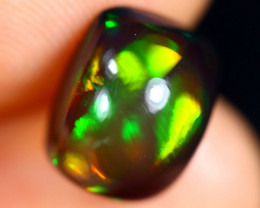2.73cts Natural Ethiopian Welo Smoked Opal / HM3095