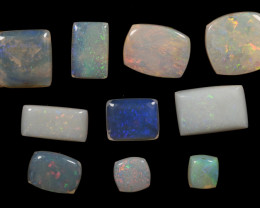 13.18 cts - Lightning Ridge Australian Opal, Lot of 10