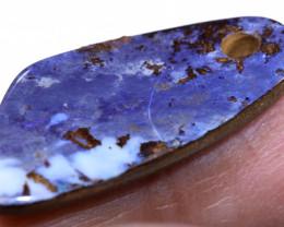 7Carats Boulder Opal Pre Drilled  Ro-1824    raniopals
