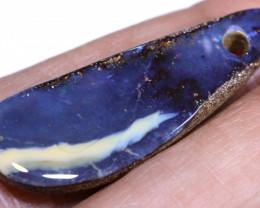 10.30Carats Boulder Opal Pre Drilled  Ro-1825    raniopals