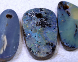 31.30CTS-Boulder Opal Drilled Parcel Ro-1832 raniopals