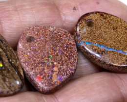 41.10CTS-Boulder Opal Drilled Parcel Ro-1834  raniopals