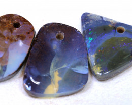 37.50CTS-Boulder Opal Drilled Parcel Ro-1836  raniopals
