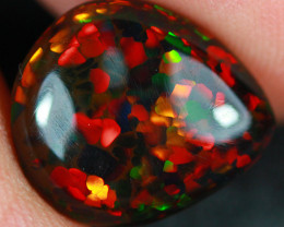 2.79CT  Natural Black Ethiopian Opal (Stayish Mine) Collector Piece-BDA665
