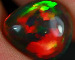 $500 2.09 CT Dark Base!! Collector Grade Rare Natural Ethiopian Opal-BDA670