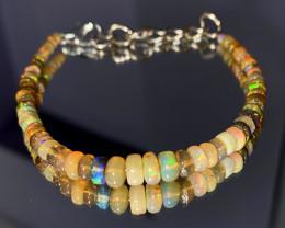 20.55 Crts Natural Ethiopian Welo Opal Bracelet 144