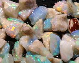 20cts Coober Pedy White Opal Rough Parcel  ADO-9606   adopals