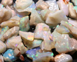 20cts Coober Pedy White Opal Rough Parcel  ADO-9632   adopals