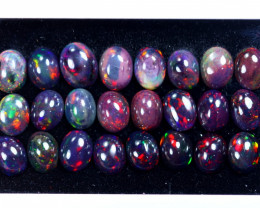 26.09cts Natural Ethiopian Welo Smoked Opal Lots / HM3102