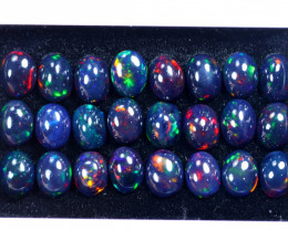 29.68cts Natural Ethiopian Welo Smoked Opal Lots / HM3106