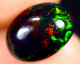 3.37cts Natural Ethiopian Welo Smoked Opal / HM3125