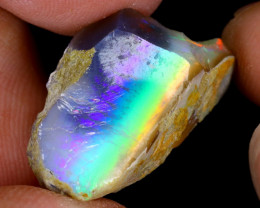15cts Natural Ethiopian Welo Rough Opal / PA549