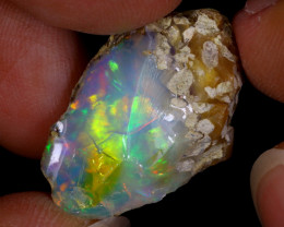 18cts Natural Ethiopian Welo Rough Opal / WR8535