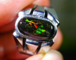 39.10 CT Gorgeous Indonesian Wood Fossil Opal Jewelry Ring