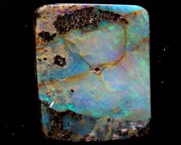 Boulder Opal Polished Stone AOH-809  australianopalhunter