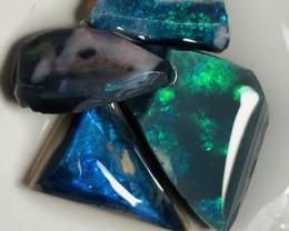 Black Opal Rubs- 19 CTs of Bright Opal Rubs #526
