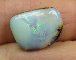 13cts, BOULDER OPAL~FREE DRILLING.