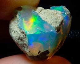 9.2ct Natural Ethiopian Welo Rough Opal