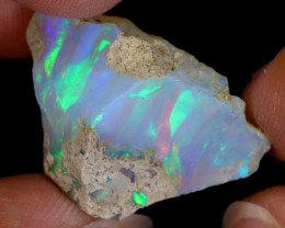 21cts Natural Ethiopian Welo Rough Opal / WR8594
