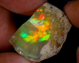 37cts Natural Ethiopian Welo Rough Opal / WR8595