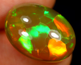 9.83cts Natural Ethiopian Welo Opal / BF8776
