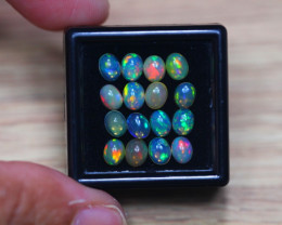 3.66Ct Natural Ethiopian Welo Solid Opal Lot W615