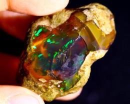 120cts Ethiopian Crystal Rough Specimen Rough / CR5073