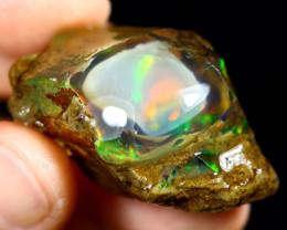 84cts Ethiopian Crystal Rough Specimen Rough / CR5082