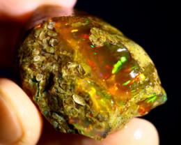 87cts Ethiopian Crystal Rough Specimen Rough / CR5086