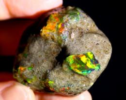 155cts Ethiopian Crystal Rough Specimen Rough / CR5100