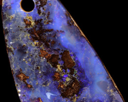 12 CTS BOULDER OPAL DRILLED STONE CRO-451   CROWNOPAL