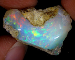 21cts Natural Ethiopian Welo Rough Opal / WR8612